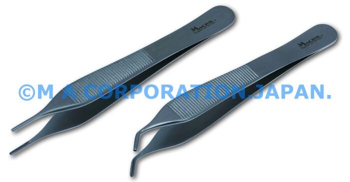 10079-12C Debakey Adson Atraumatic Fcps 1.5mm, angled cvd12cm