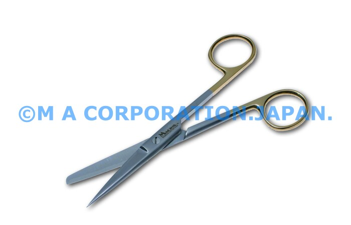 20023-14ZS Op-Scissors sh/bl str 14.5cm TC