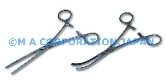 40095-18S Kocher Intestinal Fcps str 18cm