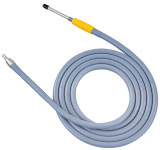 Fiber cable, halogen