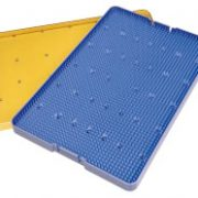 STERILISING TRAYS,381mm×254mm×19mm